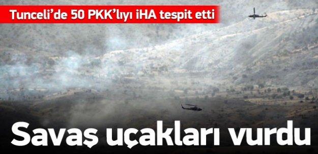 Tunceli'de 50 PKK'lı öldürüldü!