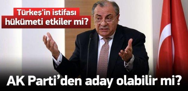 Türkeş'in istifası ve adaylığı hükümeti etkiler mi