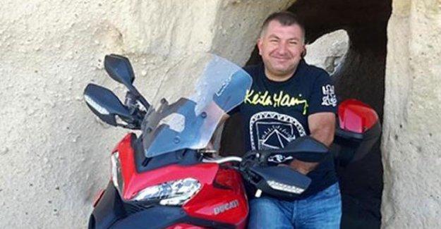 Usta motorcunun acı ölümü