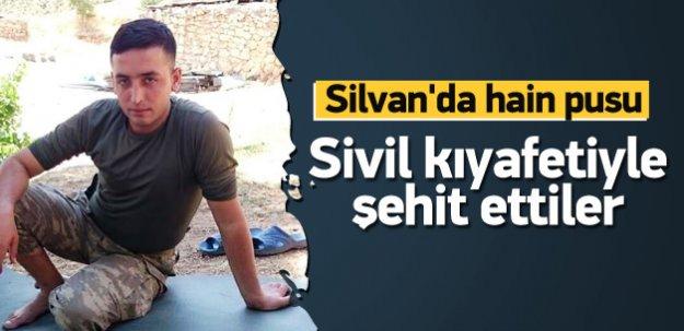 Uzman çavuş Mehmet Ali Sarak şehit oldu