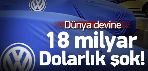 Volkswagen'e, ABD'den şok haber