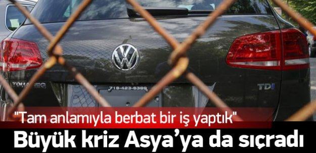 Volkswagen krizi büyüyor Asya'ya da yayıldı