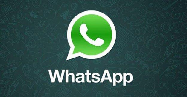 WhatsApp'a güncelleme geldi