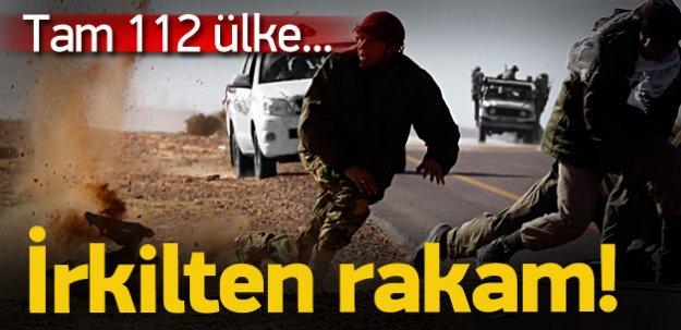 Yabancı savaşçı trafiğinde korkunç rakamlar