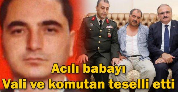 Yarbay Çelikcan'ın baba evine ateş düştü