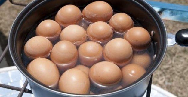 Yumurtayı kaynattığınız suyu sakın dökmeyin!