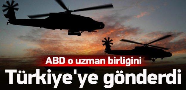 ABD'de o uzman birliğini Türkiye'ye gönderdi