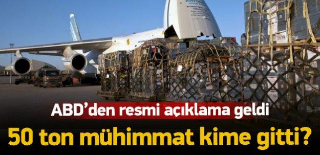 ABD: YPG'ye silah vermedik