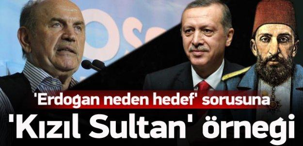 'Abdülhamit'i devirenler Erdoğan'a saldırıyorlar'