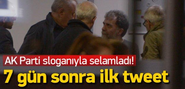 Ahmet Hakan'dan saldırı sonrası ilk tweet