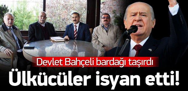 Ak Parti diyen eski ülkücülerden Bahçeli'ye isyan!