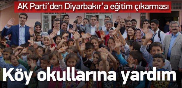 AK Parti İstanbul'dan D.Bakır'a eğitim çıkarması