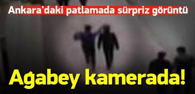 Ankara'daki patlama ile ilgili sürpriz görüntü