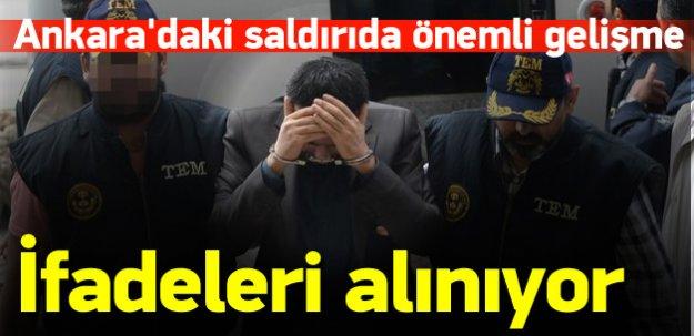 Ankara'daki saldırı kapsamında 11 kişi adliyede