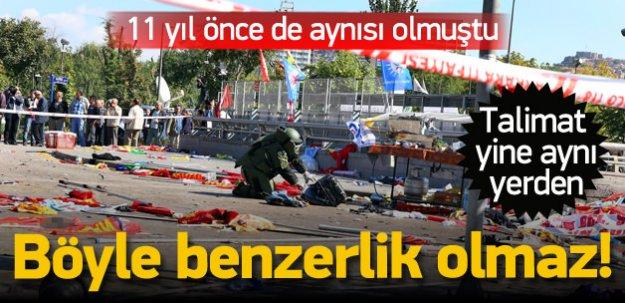Ankara saldırısının aynısı 11 yıl önce de yapıldı!