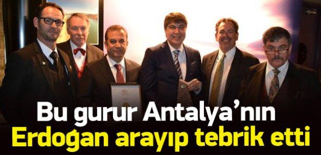Antalya'ya dünya ödülü: Çiçek Açan Şehir!