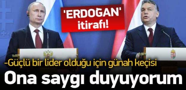 Avrupalı liderden Erdoğan'a büyük övgü