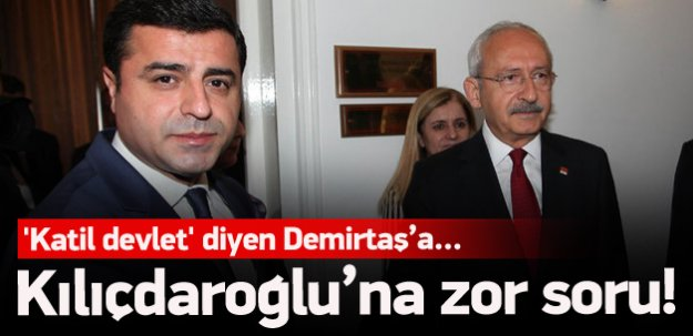 Bakan'dan Kılıçdaroğlu'na zor soru!