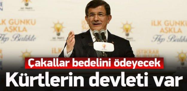 Başbakan: Kürtlerin devleti 'Türkiye'dir