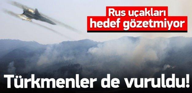 Bayırbucak Türkmenleri de vuruldu