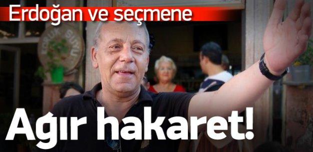 Bekir Coşkun'dan Erdoğan ve seçmene ağır hakaret