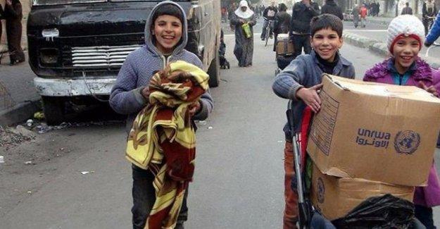 BM, Suriye'ye tarihi geçmiş bisküvi gönderdi