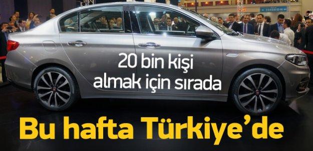 Bu hafta Türkiye'de! 20 bin kişi almak için sırada