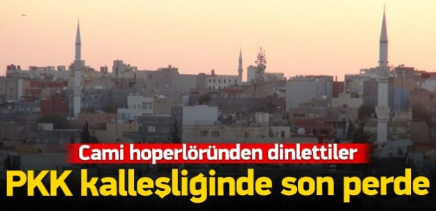 Cami hoparlörlerinden PKK marşı çaldılar