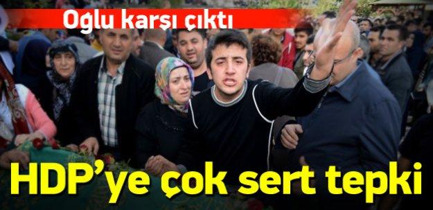 Cenaze töreninde PKK ve HDP'ye şok!