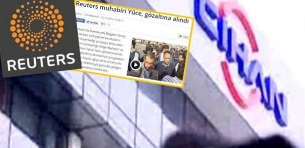 Cihan'dan Reuters yalanı