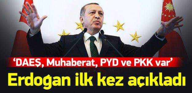 Cumhurbaşkanı Erdoğan: DEAŞ da var, PKK da PYD de