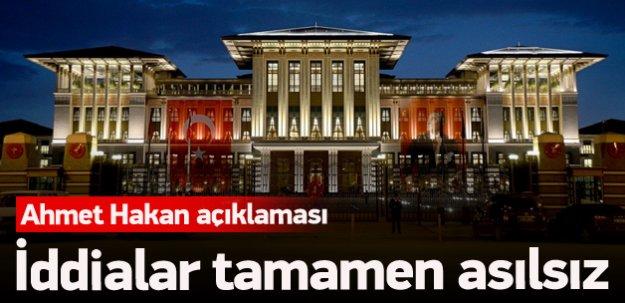 Cumhurbaşkanlığı'ndan Ahmet Hakan açıklaması