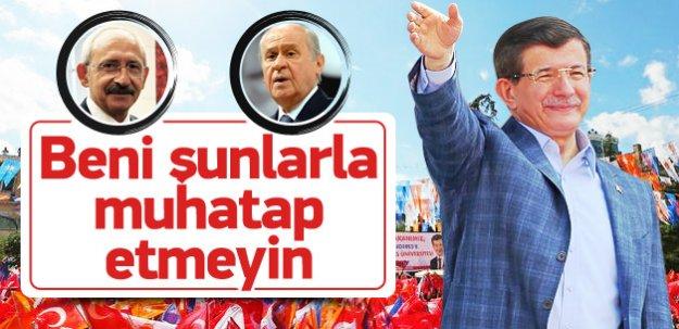 Davutoğlu: Bizi koalisyona muhtaç etmeyin