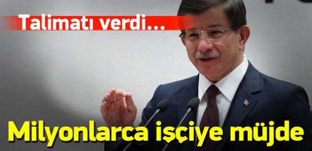 Davutoğlu HAK-İŞ Genel Kurulu'nda konuştu