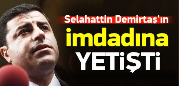 Demirtaş'ın imdadına paralel örgüt yetişti