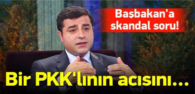 Demirtaş'tan Başbakan'a skandal soru!