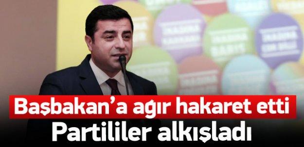 Demirtaş'tan Davutoğlu'na ağır hakaret