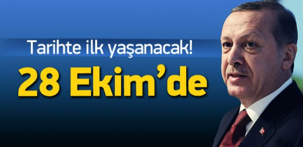 Erdoğan: 28 Ekim'de vatandaşa resepsiyon vereceğiz