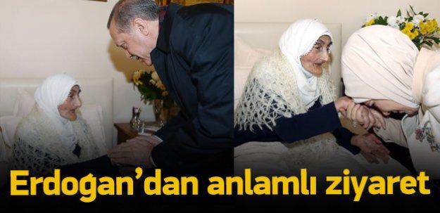 Erdoğan ailesinden anlamlı ziyaret