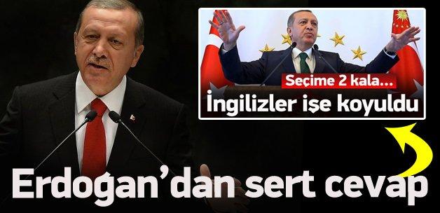 Erdoğan'dan Economist'e sert cevap