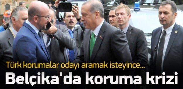 Erdoğan'ın korumaları odayı aramak isteyince...