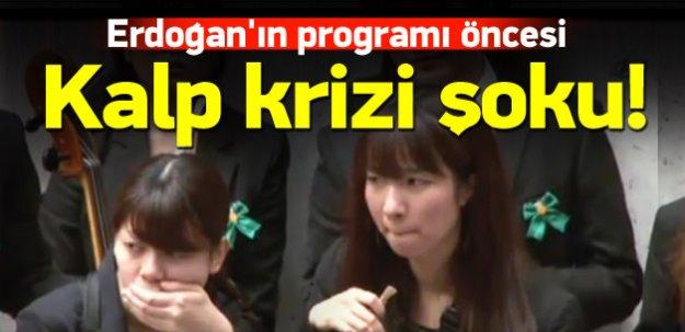 Erdoğan'ın programı öncesi kalp krizi şoku!