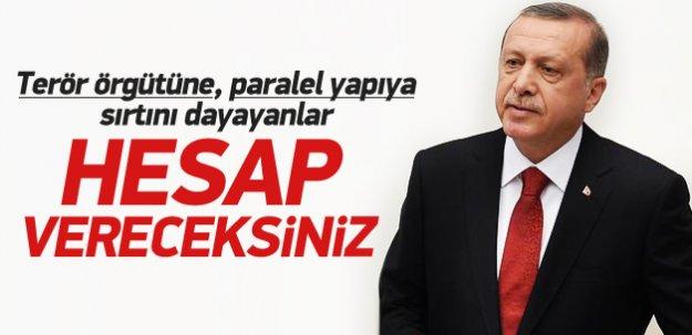 Erdoğan Meclis açılış konuşmasını yaptı