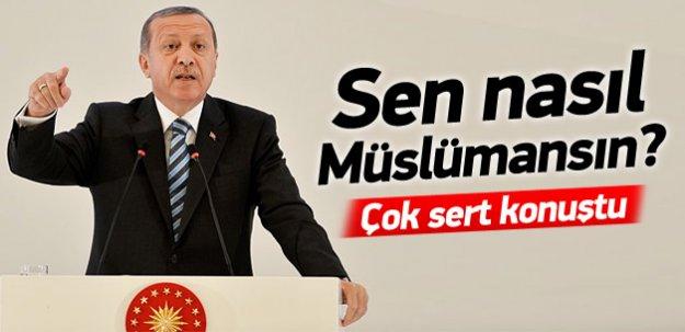 Erdoğan Müslüman Dini Liderlere hitap etti