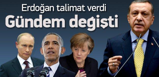 Erdoğan talimatı verdi değişti!