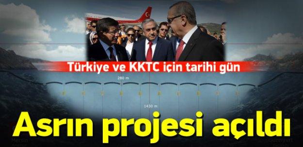 Erdoğan ve Davutoğlu asrın projesini açtı