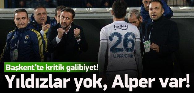 Fenerbahçe Başkentte güldü!