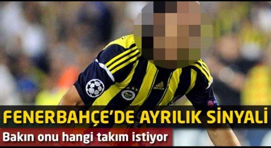 Fenerbahçe'de ayrılık sinyali