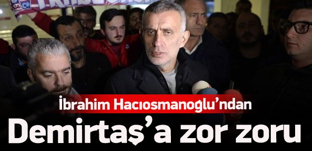Hacıosmanoğlu'ndan Demirtaş'a zor soru