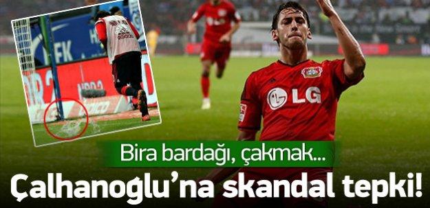 Hakan Çalhanoğlu'na skandal tepki!